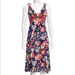 Just Cavalli Patterned Midi Dress